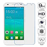 2 x Guran® Protector de Pantalla Vidrio Cristal Templado Para Alcatel OneTouch Idol 2 Mini S / Idol 2 Mini (4.5pulgada) Smartphone Film