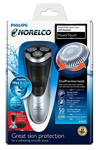 Philips Norelco AT815 PowerTouch Shaver with Aquatec Technology