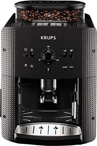 Krups EA810B70 Kaffeevollautomat (1450 Watt, 1,8 Liter, 15 bar, CappuccinoPlus-Düse) anthrazit