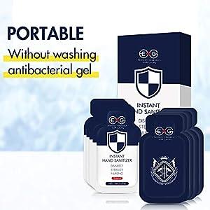 Einweg-Händedesinfektionsmittel 2 g/Beutel 24 Packungen