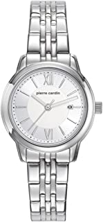 Pierre Cardin Womens Analogue Classic Quartz Watch with Stainless Steel Strap PC901852F03