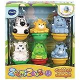 VTech - Zoomizooz - Coffret 6 animaux Jungle - Animaux à collectionner - Version FR