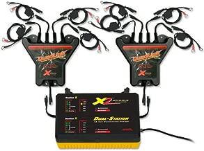 PulseTech Xtreme 8-Station QuadLink Battery Charger Kit, Black