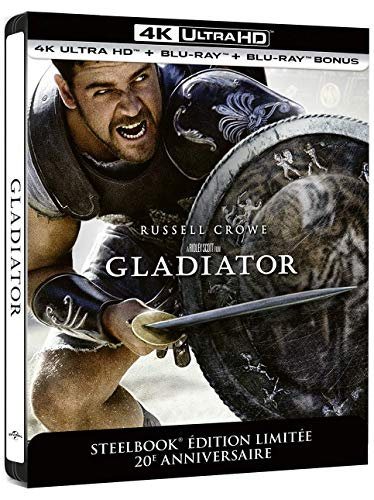 Gladiator 4k ultra hd [Blu-ray] [FR Import]