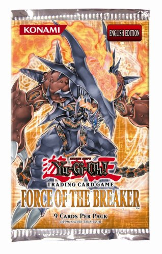 YuGiOh GX Card Game Force of the Breaker 1st Edition Booster Pack