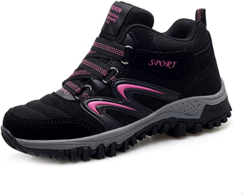 GIY Women's Waterproof Hiking Boots High-top Outdoor Running Hiker Anti-Slip Casual Trail Climbing shoes
