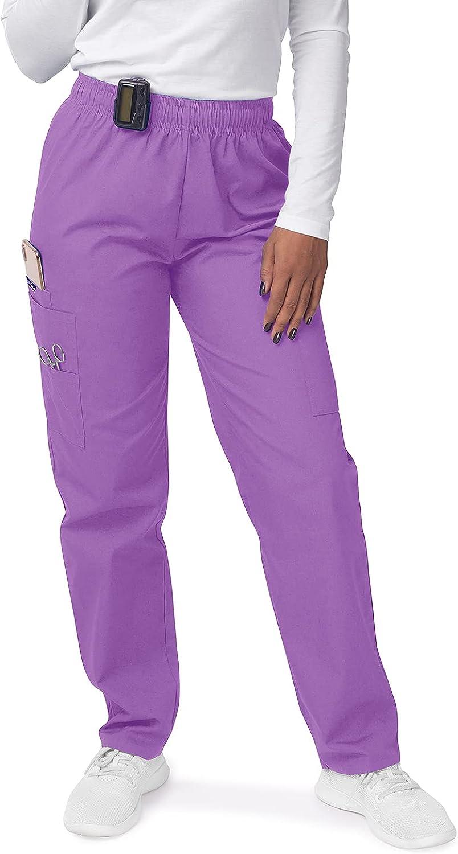 SIVVAN Scrubs for Popular brand Women - Cargo Scrub Pants Max 43% OFF Drawstring