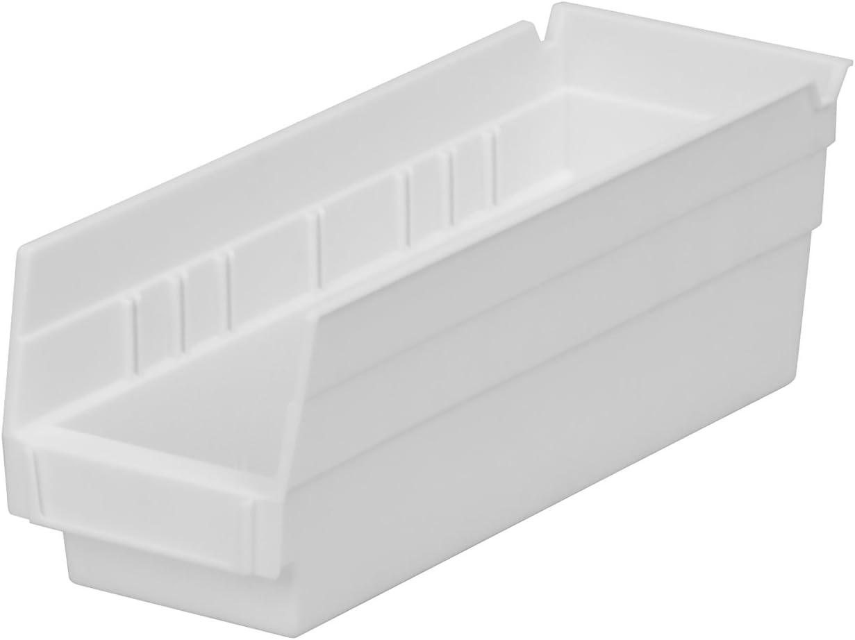 Akro-Mils 30120 12-Inch by Shel Nesting lowest price Plastic Milwaukee Mall 4-Inch