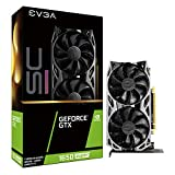 EVGA GeForce GTX 1650 Super SC Ultra Gaming, 4GB GDDR6, Dual Fan, Metal Backplate, 04G-P4-1357-KR
