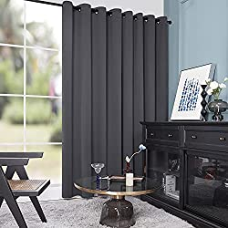 The Deconovo Curtains Come In A Large 100x95 Inch Size That Is Designed To Do Job Double Panel Usually