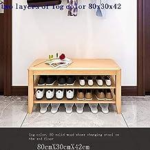 XDDDX Stool Bedroom Sofa Stool Rectangular Dressing Room Simple Strip Shoe Change Stool Home Entrance (Color : A, Size : 8...