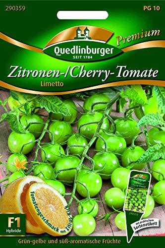 Zitronen-Tomate, Limetto Quedlinburger Saatgut Samen 290359