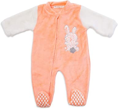 BABY-BOL - Pijama Manta bebé-niños Color: Naranja Talla: 6 ...