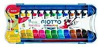 Giotto 304000 Tempera Extra In Tubetto 12 Ml, 12 Colori, 12 Pezzi & Acquerelli In 24 Colori, Pastigle Da 30Mm, Con Pennello #1