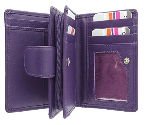 Mala, Damen-Geldbörse violett