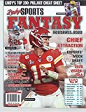 LINDY'S SPORTS MAGAZINE - FANTASY FOOTBALL 2020 - PATRICK MAHOMES - DAVANTE ADAMS - SAQUON BARKLY