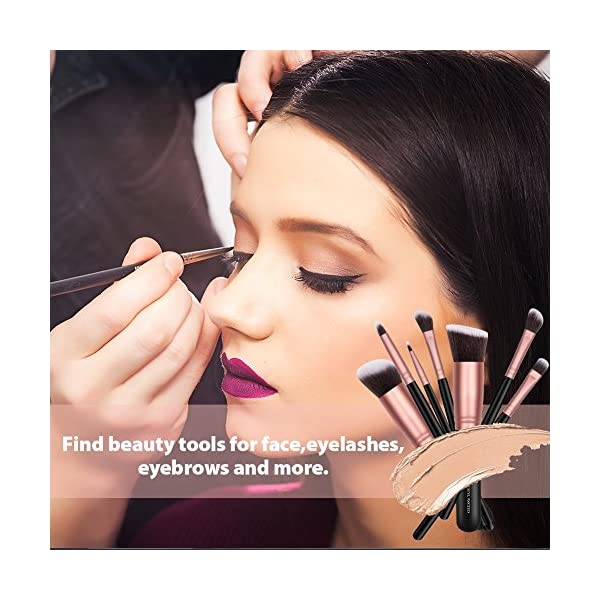 Beauty Shopping BS-MALL(TM) Makeup Brushes Premium 14 Pcs Synthetic Foundation Powder Concealers