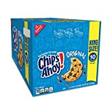 Includes two 8 count boxes of 16 individual King Size packs (10 chips Ahoy! Original Chocolate Chip Cookies per pack 160 cookies total These crowd-pleasing crunchy cookies come crammed with real chocolate chips to satisfy any sweet tooth. A resealabl...
