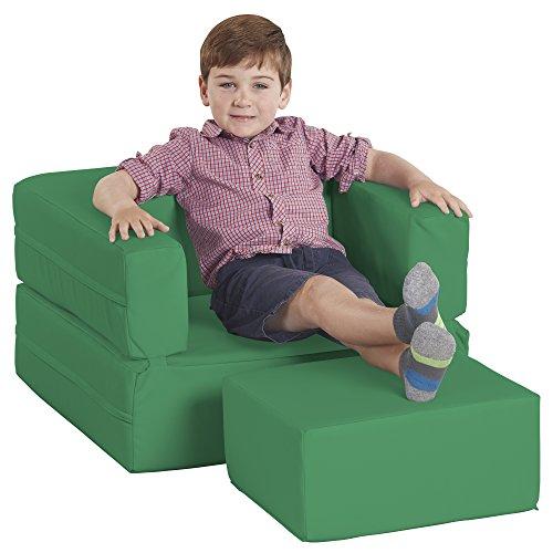 ECR4Kids Softzone Flip Flop Cabrio kinderstoel, groen, 1