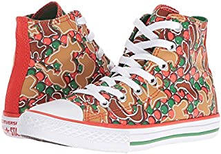 Converse Chuck Taylor All Star Hi Signal Red/Green (Little Kid/Big Kid)