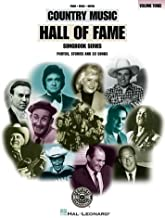 Country Music Hall of Fame - Volume 3 (Songbook Series)