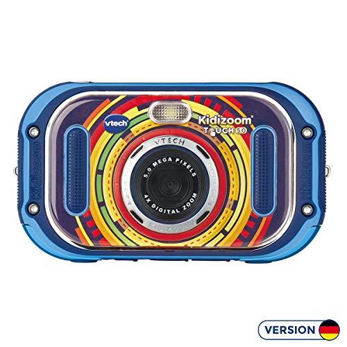 VTech 80-163504 Kidizoom Touch 5.0 Kinderkamera Digitalkamera für Kinder Kinderdigitalkamera, Mehrfarbig