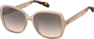 Fossil Women's 202287 Sunglasses, Color: Pink, Size: 56