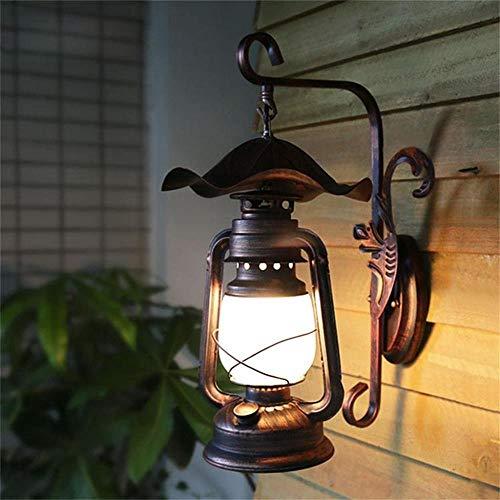 -Amerikaanse land gangpad wandlamp antieke kerosine lantaarn oud retro decoratieve Chinese stijl binnenplaats Corridor wandlamp