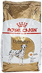 For Dalmations over 15 months of age Urinary tract maintenance Sensitive skin condition Cardiac tone Intense colour spots