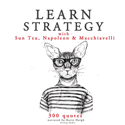 Couverture de Learn Strategy with Sun Tzu, Napoleon and Machiavelli