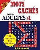 MOTS CACHÉS pour les ADULTES # 1
