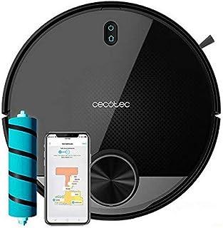 Cecotec Robot Aspirador Conga 3390. Tecnología láser, friega, Barre y Pasa la mopa simultáneamente, Cepillo Jalisco,Room P...