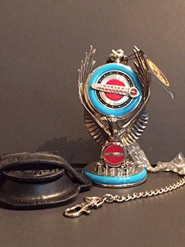 Franklin Mint Harley Davidson Hydra-Glide Pocket Watch with Stand