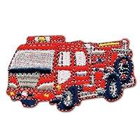 パイオニアはたらく車シリーズ 消防車のワッペン