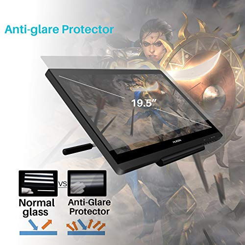 Huion GT-191 KAMVAS Drawing Tablet with HD Screen Graphic Drawing...