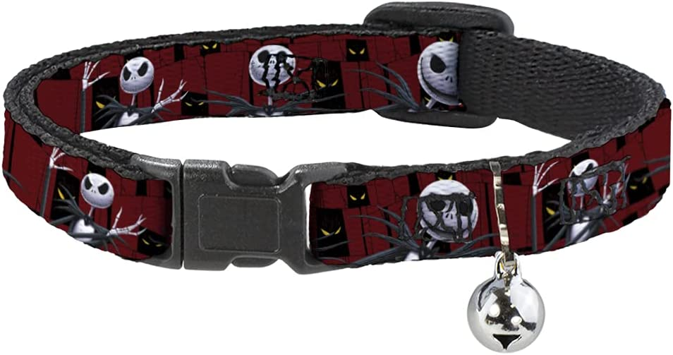 Buckle-Down Breakaway We OFFer at cheap prices Cat Collar - Nightmare 3- Before Super Special SALE held Christmas