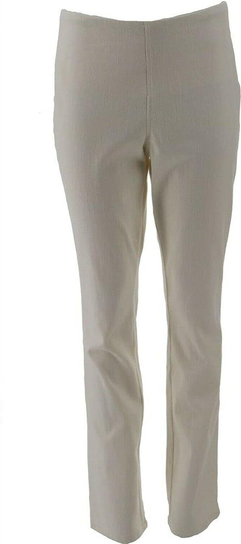 Belle Kim Gravel Flexibelle Tummy Smoothing Jeans A391270 Cream