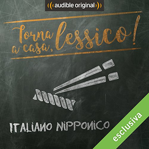 Italiano nipponico audiobook cover art