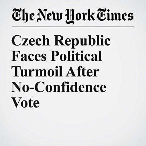 Czech Republic Faces Political Turmoil After No-Confidence Vote copertina