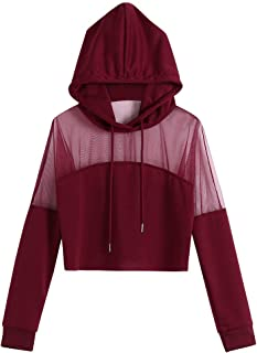 PEIZH Women Solid Color Zip Pocket Sweatshirt Casual Solid Long Sleeve Zipper Tops Pocket Shirt Hooded Sweatshirt