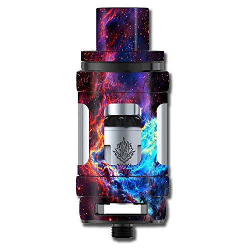 Skin Decal Vinyl Wrap for Smok TFV12 Cloud Beast King Tank Vape Mod stickers skins cover/ Cosmic Color Galaxy Universe
