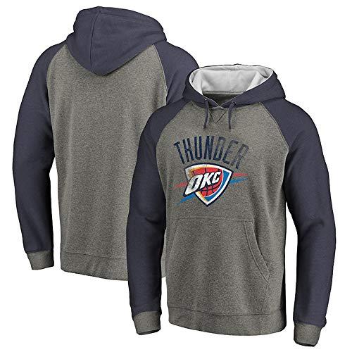 Heren Sweatshirt NBA Fans Jersey Oklahoma City Thunder Hoodie met Trekkoord Lange Mouwen Casual Comfortabele Pullover S-XXXL