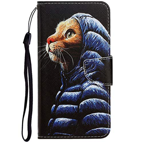 Dclbo Hülle für Nokia 2.2 2019, Handyhülle PU Leder Schutzhülle Flip Wallet Hülle Lederhülle Brieftasche Tasche mit Kartenfächer Magnet Cover Klapphülle für Nokia 2.2 2019-1 Muster
