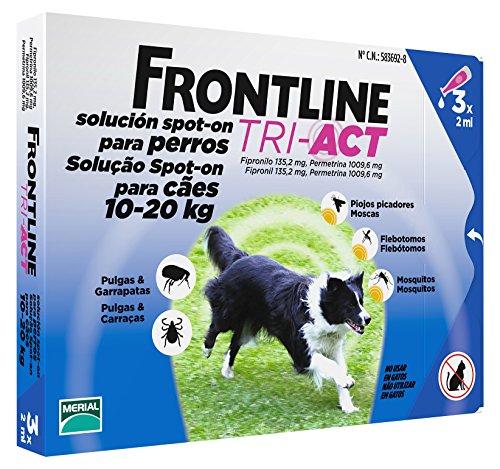 Frontline Tri-Act 10-20kg 3 Pipette x2ml