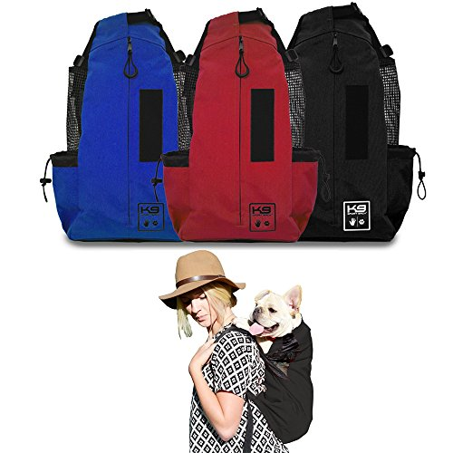 K9 Sport Sack - The Original Dog Carrier Backpack (Small, Jet Black)