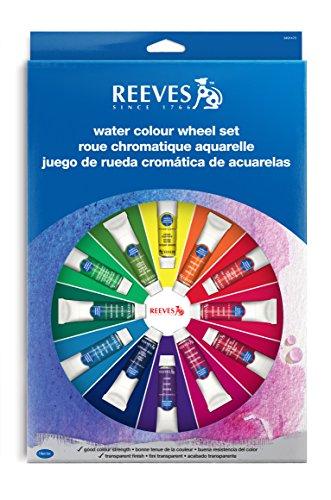 Estojo Tinta Aquarela Reeves 18 Peças, Reeves, 8491470, Colorido