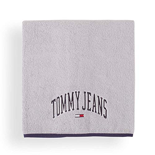 Tommy Hilfiger Toalla de ducha Outline Font 70 x 130 cm I Color Gris I Monótono