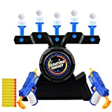 Herefun 2 Juegos de Pistola Restablecimiento Automático Pistola de Juguete Juego de Disparos al Aire Libre Regalo Chico Chica (Azul1)
