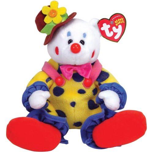 Amazon.com  Ty Juggles - Clown Bear  Toys   Games d08e1b6bb6af