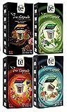 Capsulas de Te Nespresso Cuidate - Degustación 60 Capsulas Compatibles - 4 Sabores